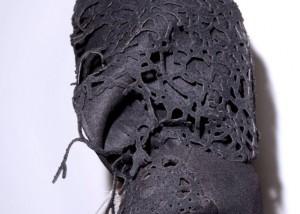 laser cut wool hood